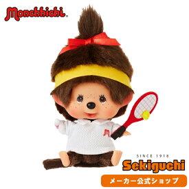 【メーカー直販】レッツ! スポーツ モンチッチ テニス 女の子 ユニフォーム グッズ ぬいぐるみ 顔でかモンチッチ お手玉 もんちっち 人形 セキグチ