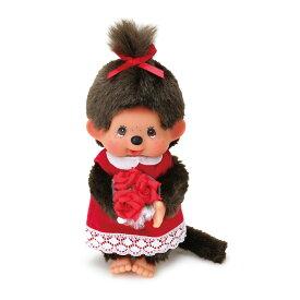 モンチッチ 女の子 赤いおはな ぬいぐるみ フラワーブーケ モンチッチ もんちっち