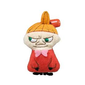 ネコポス可★ムーミン ぬいぐるみバッジ リトルミイ Moomin むーみん ミィ みい グッズ 雑貨 バッチ かわいい