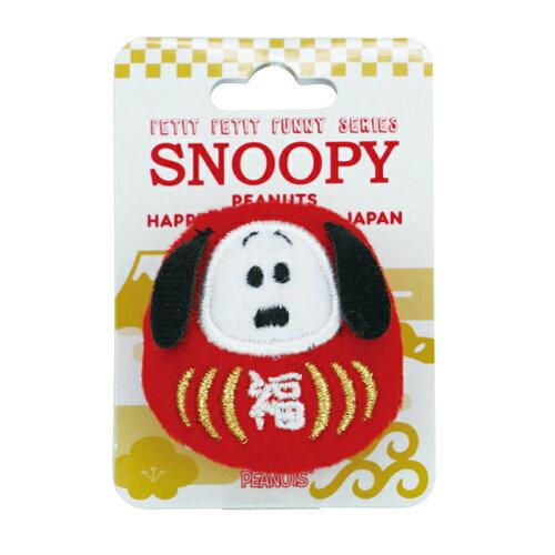 ぷちぷちファニーシリーズぬいぐるみバッジスヌーピーだるまSNOOPYピーナッツすぬーぴーぬいぐるみグッズバッチ雑貨日本和