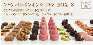 高級 シャンパンボンボンショコラ BOX S ギフト 手土産ショコラ詰め合わせ チョコレート詰め合わせ シャンパントリュフ ロシェ マンディアン 高級チョコレート タブレットシ