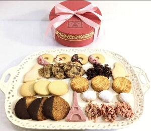 高級サブレ・ショコラBOX Lギフト クッキー詰め合わせ ショコラ詰め合わせ 手土産 高級プレミアム チョコレートクッキー 上質バターサブレ クッキー缶風 母の日 バレンタイン