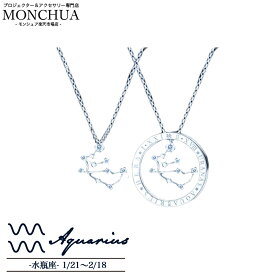 【Monchua】Lukasha(ルカシャ) 水瓶座のネックレス