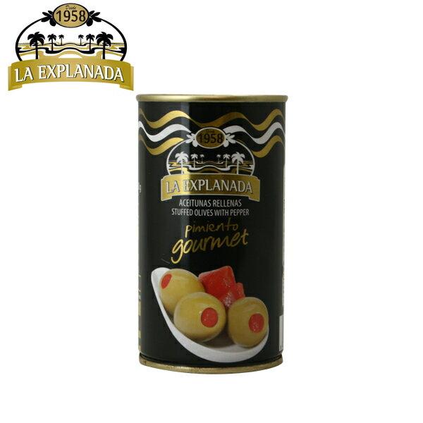 la explanada pimiento gourmet エクスプラナーダ ピメント入りオリーブ 350g