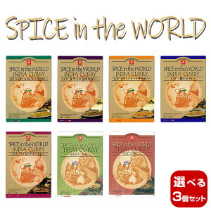 【選べる3個セット】キャニオンスパイス SPICE in the WORLD レトルトカレーセット×3