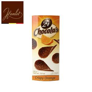 hamlet chocolate chips ハムレット チョコレートチップス 24P orange【ミルクチョコ オレンジ】80g