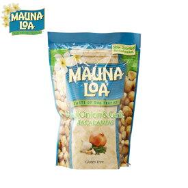 maunaloa macadamias maui onion garlic マウナロア マカデミアナッツ マウイオニオン&ガーリック Lサイズ 283g