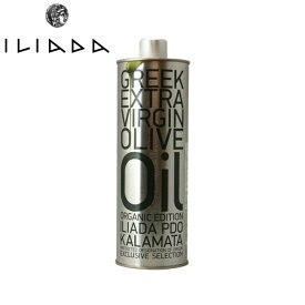 iliada organic edition iliada pdo kalamata extra virgin olive oil アグロビム イリアダ オーガニック エキストラバージン オリーブオイル 500ml (458g)