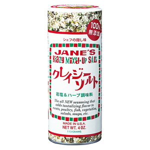 JANE'S ジェーン クレイジーソルト 113g