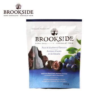 brooksideブルックサイドacai&blueberryダークチョコレートアサイー&ブルーベリー