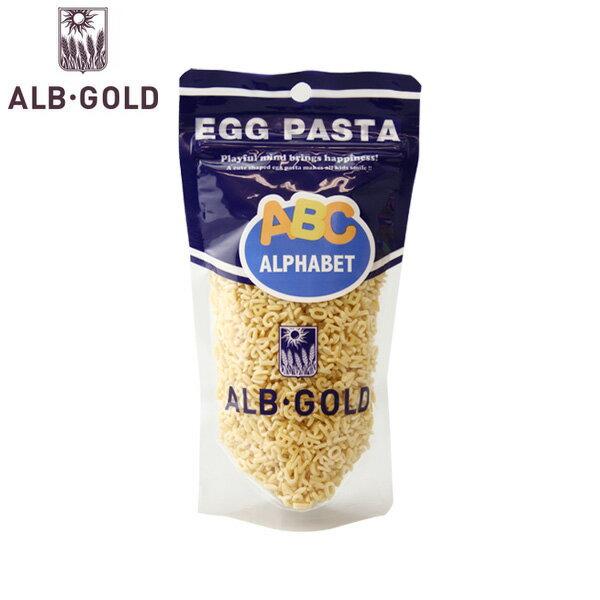 alb gold egg pasta alphabet アルボ・ゴルド アルファベットパスタ 90g