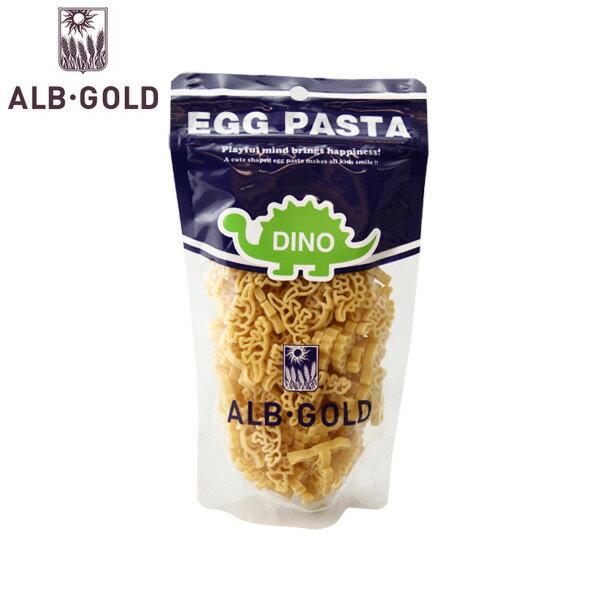 alb gold egg pasta dino アルボ・ゴルド ディノザウルスパスタ 90g