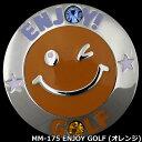 【1,000円ポッキリ】メガマーカー MM-175 ENJOY GOLF オレンジ【メール便で送料無料】【evmkhc】【あす楽】