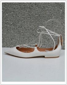 Pippichic/ピッピシックフラットレースアップパンプス【カラー】ホワイト(ANNA-LU5)