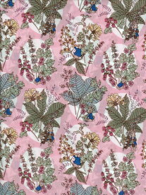 LIBERTYリバティプリントHawthorn Bunnies(ホーソーン・バニーズ)ピーターラビット™DC30743-J20B ピンク