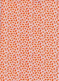 LIBERTYリバティプリントTree Tops(ツリー・トップス)2017年春夏追加柄柄カットクロスオレンジ