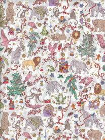 LIBERTYリバティプリントLiberty Christmas(リバティクリスマス)リバティ百貨店限定デザインDC29895-J19B ピンク