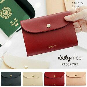 2nul イナル[2nul] Daily Nice Passport Cover/パスポートケース/旅行用品/韓国雑貨