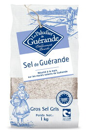 ゲランドの塩 粗塩 1kg(セル・マラン・ド・ゲランド・グロ・グリ)