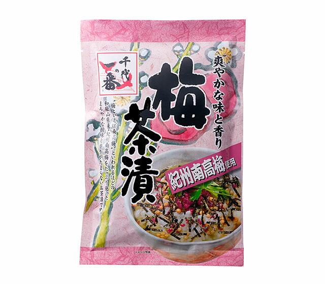 【ポイント最大43倍】千代の一番 梅茶漬け 6g×10包【和歌山県産・紀州南高梅をたっぷりと使用した『梅茶漬け』】