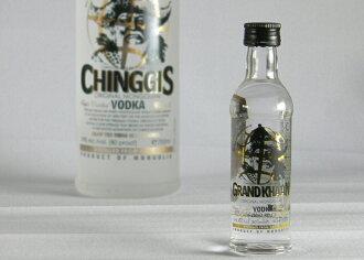 成吉思汗成吉思汗蒙古伏特加迷你瓶 50 毫升的狂热叫嚷低点!