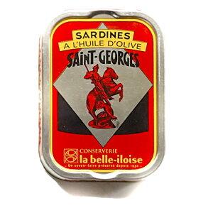 ブルターニュ海産物缶詰 クラシックオリーブオイル オイルサーディンフランス北西部 12個 1ケース【鰯】【いわし】1ケース
