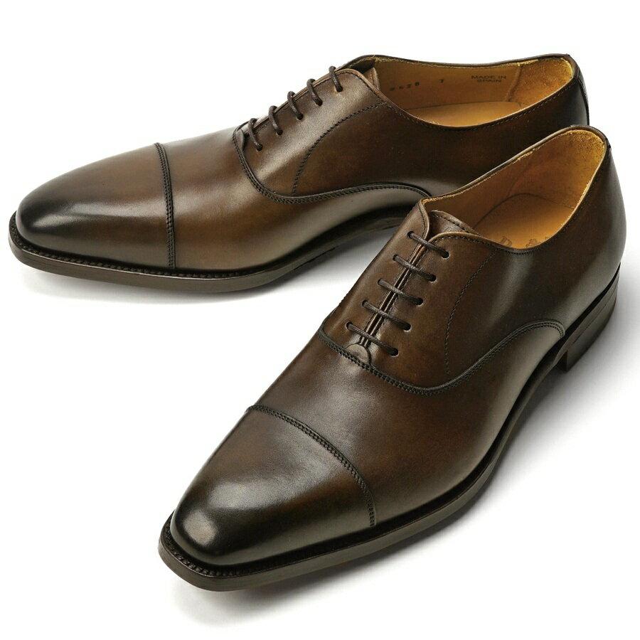 バーウィック BERWICK ストレートチップ 2428 ダークブラウン【サイズ交換無料】【ドレスシューズ 革靴 ビジネス メンズ インポート】