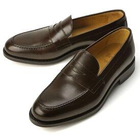 バーウィック BERWICK ローファー 4545-K2 カーフ ダークブラウン【ドレスシューズ 革靴 ビジネスシューズ メンズ インポート】