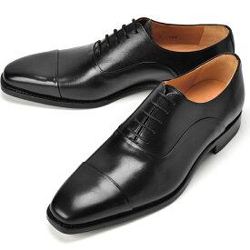 【クリアランス】コードウェイナー CORDWAINER ストレートチップ ASIER-LAST168 ブラック【ドレスシューズ 革靴 ビジネス メンズ インポート】