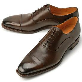 【クリアランス】コードウェイナー CORDWAINER ストレートチップ ASIER-LAST168 ESPRESSO ダークブラウン 【ドレスシューズ 革靴 ビジネス メンズ インポート】