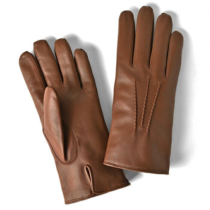 【クリアランスセール】【通常11,880円】グローブス GLOVES 手袋 レザー キャメル【メール便対応】【本革 グローブ メンズ ブラウン】