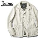 ヘルノ HERNO ナイロンジャケット GA017UL(1300) オフホワイト ゴアテックス 撥水 ラミナー 2020春夏