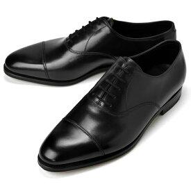 ジョンロブ JOHN LOBB CITY2 ストレートチップ ブラック シングルソール ワイズE【ドレスシューズ 革靴 ビジネスシューズ メンズ インポート】