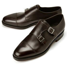 ジョンロブ JOHN LOBB WILLIAM ダブルモンクストラップ ワイズE ダークブラウン ダブルソール【ドレスシューズ 革靴 ビジネスシューズ メンズ インポート】