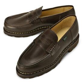 パラブーツ PARABOOT ランス REIMS ダークブラウン LIS-CAFE カーフ ノルウィージャン製法【ドレスシューズ 革靴 ビジネスシューズ メンズ インポート】