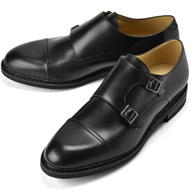 【大きいサイズ特価】パラブーツ PARABOOT ビグニー VIGNY ブラック LIS-NOIR ダブルモンクストラップ カーフ ノルウィージャン製法【ドレスシューズ 革靴 ビジネスシューズ メンズ インポート】