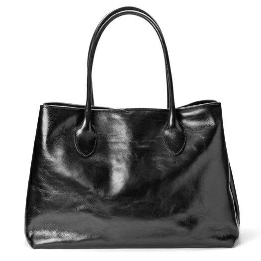 ペローニ PERONI FIRENZE レザートートバッグ ブラック / 本革 / ビジネス / メンズ / レディース / ペローニ