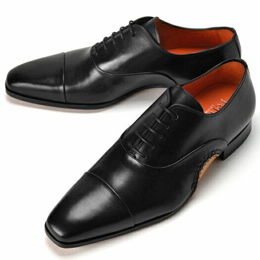 PERTINI ペルティニ オパンケ ストレートチップ 22770-2 ブラック 【サイズ交換無料】【ドレスシューズ 革靴 ビジネス メンズ インポート】