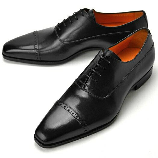PERTINI ペルティニ ストレートチップ 24211 ブラック 【サイズ交換無料】【ドレスシューズ 革靴 ビジネス メンズ インポート】