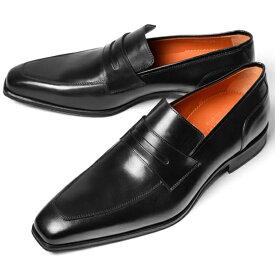 【クリアランス】PERTINI ペルティニ メンズ ローファー 22059 ブラック【ドレスシューズ 革靴 ビジネスシューズ メンズ インポート】