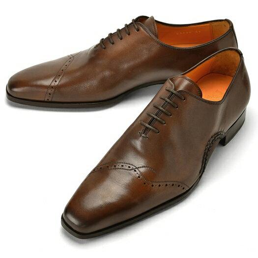 PERTINI ペルティニ オパンケ ホールカット 23290 ブラウン 【サイズ交換無料】【ドレスシューズ 革靴 ビジネス メンズ インポート】