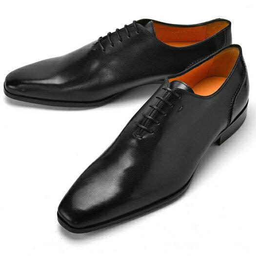 PERTINI ペルティニ ホールカット 23879 ブラック 【サイズ交換無料】【ドレスシューズ 革靴 ビジネス メンズ インポート】