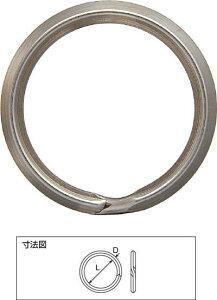 ニッサチェイン スチール製キーリング 線径:2.0mm×内径:20mm 25個入