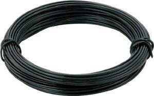 TRUSCO(トラスコ)ビニール被覆カラー針金(小巻き)線径:0.9mm×長さ:15m 黒色