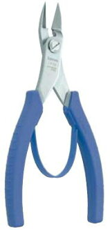 3. peaks long stainless steel plastic cutting pliers 165 mm (with プラスチックバネ) LS-02
