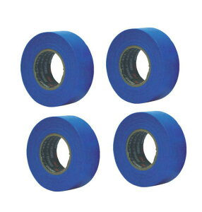 3M(スリーエム) スコッチ シーリングマスキングテープ コンクリート・タイル・パネル用 30mm幅×18m長×0.12mm厚 ブルー 4巻入