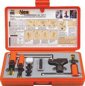 NOGA(ノガジャパン)ねじ山修正工具セット 外径4〜18、内径8〜20mm NS1017