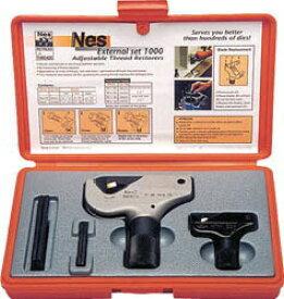 NOGA(ノガジャパン)ねじ山修正工具セット 外径4〜38mm NS8000