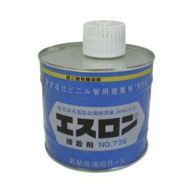 エスロン 塩ビ管用接着剤 No.73S 透明 500G