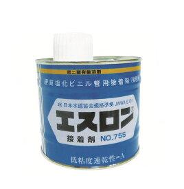 エスロン 配管用接着剤 低粘度タイプ No.75S 透明 500g